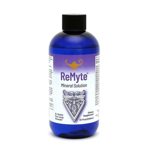 ReMyte - Solution minérale | Solution multi-minérale Pico-ion du Dr Dean -  240ml