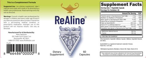 ReAline - B-Vitamins Plus - 60 Gélules