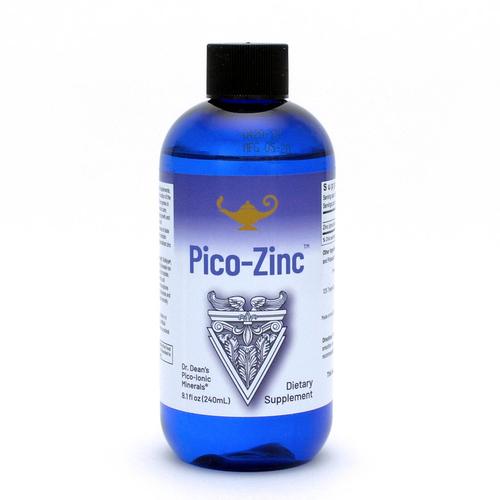 Pico-Zinc - Solution de zinc | Zinc liquide Pico-ion du Dr Dean - 240 ml