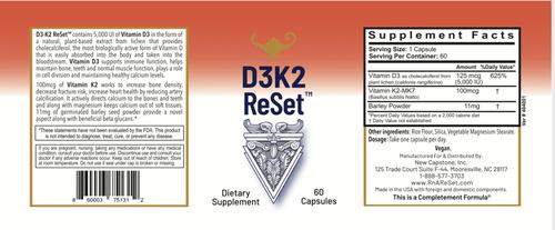 D3K2 ReSet - Vitamine D - Gélules