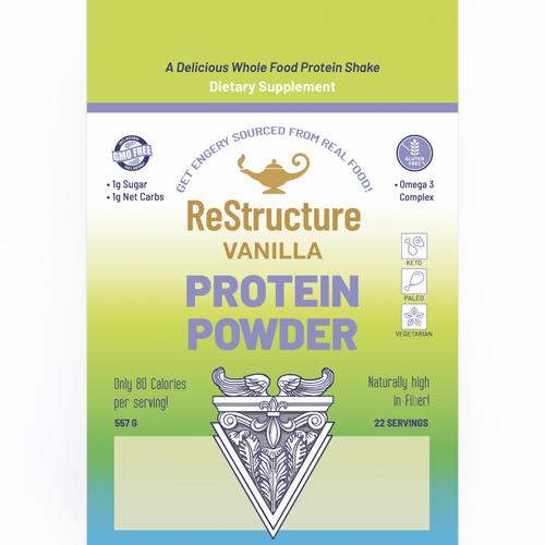 ReStructure - Poudre de protéine - Vanille