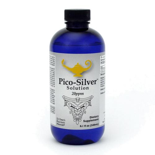 Pico-Silver Solution | Solution d'argent Pico-ion du Dr Dean - 240ml