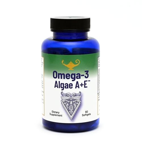Omega-3 Algae A+E - Oméga-3 acide gras végétalien à partir des algues à la vitamine A+E