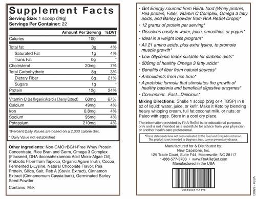 ReStructure - Poudre de protéine - Chocolat