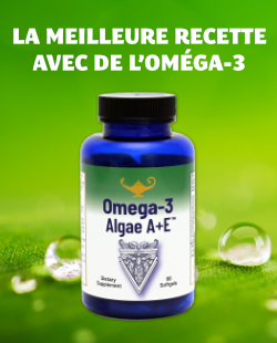 La meilleure recette avec de l'Oméga-3