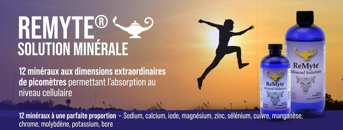 ReMyte - Solution minérale